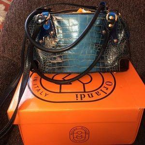 Marino Orlando genuine leather handbag